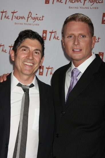 James Lecesne and Charles Robbins at The 9th Annual Trevor Project New York Gala